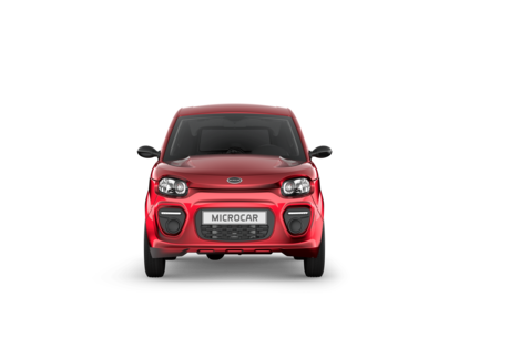 MICROCAR M.GO PLUS - FACE AVANT